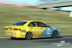 La n°94 du Spoon Sports / Opak Racing pilotée par Shinichi Katsura, Hishashi Tsukahara, Tatsuru Ichi