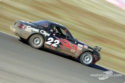 La n°22 du Elder Benner Motorsports pilotée par Justin Elder, Christian Elder et Manny Matz