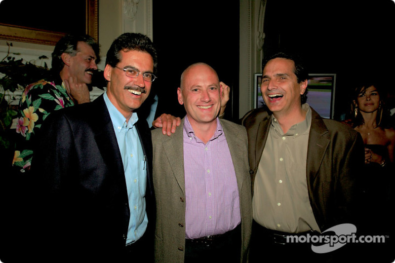 Dr Mario Theissen ve Eddie Baker ve Nelson Piquet