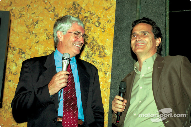 Mike Doodson ve Nelson Piquet