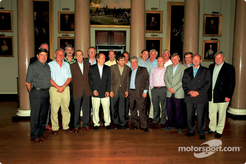 Brabham-BMW championship winning team, 1983