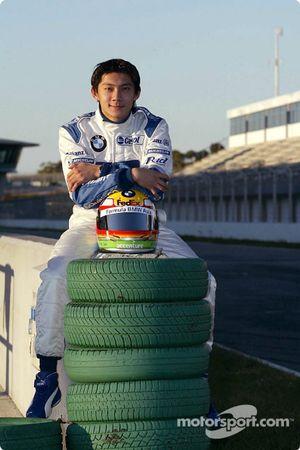 Ho-Pin Tung, le premier pilote chinois de l'histoire à piloter une Formule 1 en essais