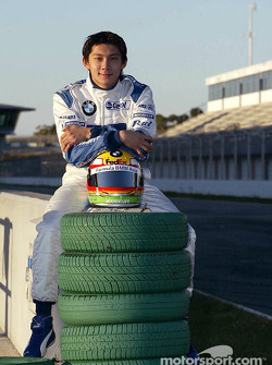 Ho-Pin Tung, the first ever Chinese driver to test a Formula One car