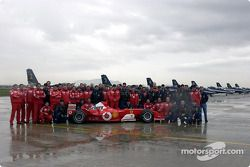 Family picture with Michael Schumacher