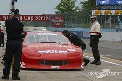 Pitstop for #18 ChevyLeavy.com Racing Team Camaro: Jon Leavy, Kenny Bupp Jr., Doug Mills