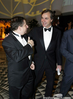 Carlos Sainz y Jean Todt
