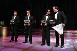 Carlos Sainz, Sébastien Loeb, Marc Martin y Daniel Elena