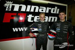 Heikki Kovalainen et Jose-Maria Lopez