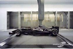 Les aérodynamiciens de Sauber vont principalement travailler sur des modèles à 60% de l'échelle réelle