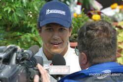 Des interviews pour le vainqueur, Leonardo Maia