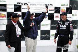 Sur le podium : Le vainqueur, Johnny Miller
