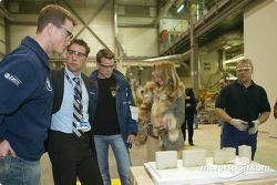 Ralf Schumacher, F1 motor foundry, BMW plant Landshut