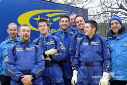 Subaru World Rally team members