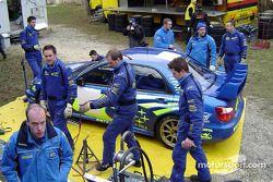 Le parc d'assistance Subaru à Monte-Carlo