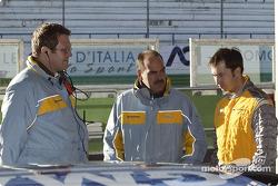 Dr. Pfistereri, Dr. Hendrikse und Heinz-Harald Frentzen, Opel