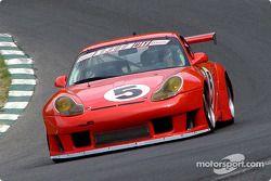 Un run de démonstration d'une Porsche 911