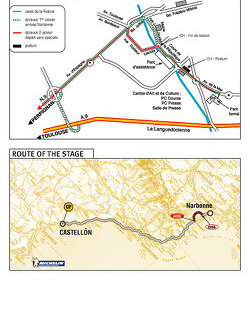 Stage 2: 2004-01-02, Narbonne to Castellon