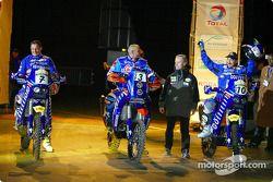 Giovanni Sala, Fabrizio Meoni et Alfie Cox