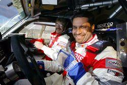 Nasser-Saleh Al-Attiyah et Marc Bartholome