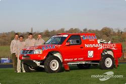 Nissan Dessoude team presentation
