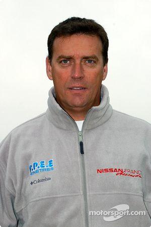 Présentation de l'équipe Nissan Dessoude : Philippe Rey