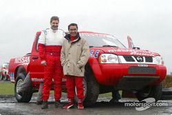 Essais de l'équipe Nissan Dessoude : Kenjiro Shinozuka et Arnaud Debron