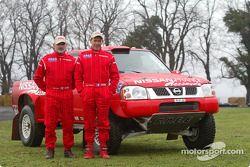 Essais de l'équipe Nissan Dessoude : Philippe Wambergue et Jacky Dubois