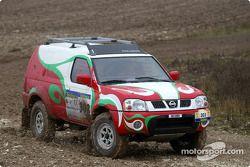 Essais de l'équipe Nissan Dessoude : Lu Ningjun et Denis Schurger