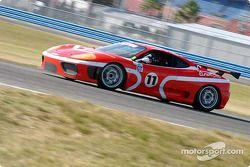#17 AASCO Motorsports Porsche GT3 Cup: Mark Webber (2), Joe Kunz, and #16 AASCO Motorsports Porsche GT3 Cup: Craig Stanton, David Murry