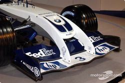 Frontal del WilliamsF1 BMW FW26
