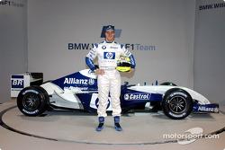 Ralf Schumacher mit dem WilliamsF1 BMW FW26