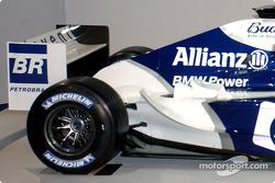 Der neue WilliamsF1 BMW FW26: Detail