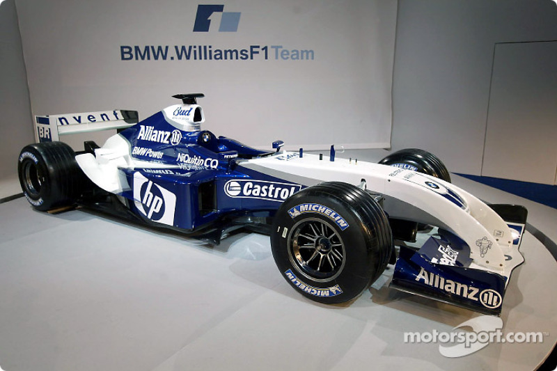 La nouvelle WilliamsF1 BMW FW26
