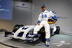 Juan Pablo Montoya mit dem WilliamsF1 BMW FW26