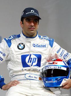 Testfahrer Marc Gene