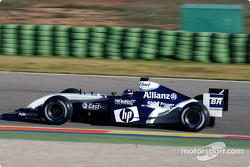 Juan Pablo Montoya prueba el WilliamsF1 BMW FW26