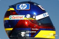 Helm von Juan Pablo Montoya