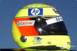 Helm von Ralf Schumacher