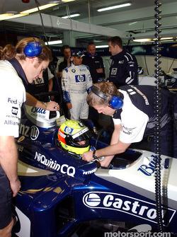 Ralf Schumacher y el WilliamsF1 BMW FW26