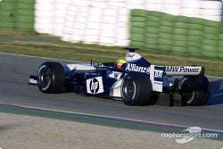 Ralf Schumacher prueba el WilliamsF1 BMW FW26