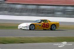 La Corvette n°46 du Michael Baughman Racing (Peter Argetsinger, John Pew, Darrio Cioiti)
