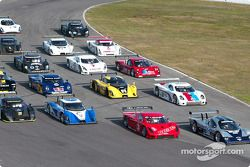 Photo de famille des Daytona Prototypes