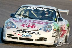 La Porsche GT3 Cup n°37 du TPC Racing (John Littlechild, Bill Adam, Randy Pobst, Andy Lally, Michael Levitas)