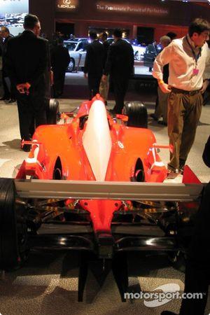 Rear of Ferrari F2003