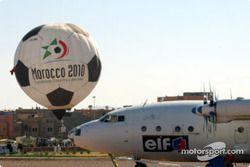 Le Maroc est candidat à l'organisation de la Coupe du Monde 2010 de football