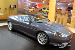 L'Aston-Martin DB9 Cabriolet