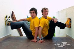 Renault F1 Team and Puma announcement: Fernando Alonso and Jarno Trulli