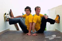Renault F1 Team ve Puma announcement: Fernando Alonso ve Jarno Trulli
