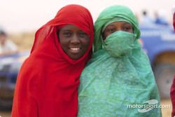 De jeunes fans de Mauritanie