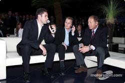 Special konukları Karl Wendlinger ve Johnny Herbert ve about Sauber'in 10 years Formula One